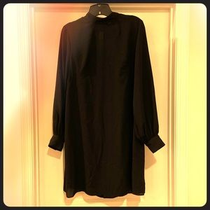 ASOS maternity black dress